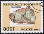 Stamps Togo -  Minerales