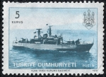 Stamps Turkey -  Barcos