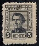 Stamps Uruguay -  Personajes