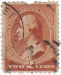 Stamps United States -  U.S.Postage. George Washington