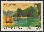 Stamps Vietnam -  Paisaje