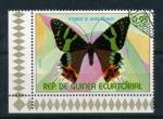 Stamps Equatorial Guinea -  heterocero del antiguo continente