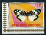 Stamps Africa - Equatorial Guinea -  chrysiridia madagascariensis