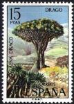 Sellos de Europa - España -  Flora. Drago.