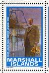 Stamps Oceania - Marshall Islands -  1989 Exploracion espacial: 1er cohete combustible liquido 1926