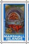 Stamps Oceania - Marshall Islands -  1989 Exploracion espacial: 1er hombre en el espacio 1961