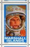 Stamps Oceania - Marshall Islands -  1989 Exploracion espacial: 1ª mujer en el espacio 1963