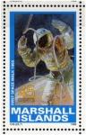 Stamps Oceania - Marshall Islands -  1989 Exploracion espacial: 1er paseo espacial 1965