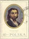 Stamps Poland -  Autoretrato de Jan Matejko