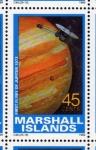 Stamps Oceania - Marshall Islands -  1989 Exploracion espacial: 1er vuelo a Jupiter 1973