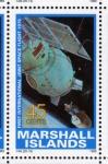 Stamps Oceania - Marshall Islands -  1989 Exploracion espacial: 1ª ncuentro espacial Apolo-Soyuz 1975