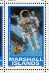 Sellos del Mundo : Oceania : Islas_Marshall : 1989 Exploracion espacial: 1er paseo espacial autonomo 1984