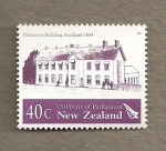 Stamps New Zealand -  150 Años de Parlamento