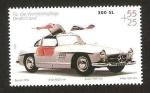 Stamps Germany -  mercedez benz, 300 SL