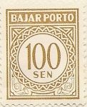 Stamps of the world : Indonesia :  BAJAR PORTO