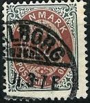 Stamps Denmark -  Tipo de 1870, valor en ÖRE