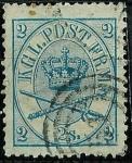 Sellos de Europa - Dinamarca -  Corona