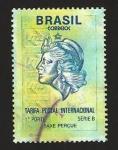 Sellos del Mundo : America : Brasil : tarifa postal internacional