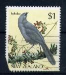 Sellos del Mundo : Oceania : Nueva_Zelanda : kokako
