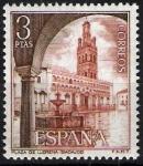 Sellos de Europa - España -  Serie turística. Plaza de Llerena, Badajoz.