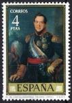 Sellos de Europa - España -  Dia del Sello. Vicente López  Portaña. Marqués de Castelldosrrius.
