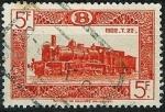 Stamps Belgium -  Locomotoras