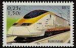 Stamps France -  Tren Eurostar