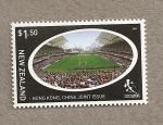 Stamps New Zealand -  Rugby a 7