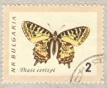 Sellos de Europa - Bulgaria -  Thais cerisyi