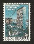 Sellos de Europa - Bélgica -  25 anivº de la O.N.U.