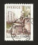 Sellos del Mundo : Europa : Suecia : j.j. bercelius