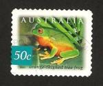 Stamps : Oceania : Australia :  Rana naranja