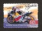 Sellos de Oceania - Australia -  gran premio de motociclismo