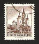 Sellos de Europa - Austria -  VIII centº de la basílica de Mariazell