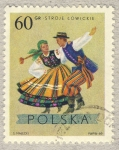 Stamps of the world : Poland :  traje y baile tipico