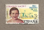 Stamps Spain -  Dejadles nacer