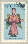 Stamps Poland -  Rzezba Ludowa siglo XIX