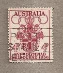 Sellos de Oceania - Australia -  XV Olimpiada 1956