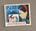 Sellos de Oceania - Australia -  Navidad 1964