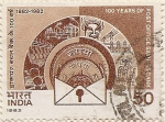 Stamps India -  100 YEARS OF POST OFFICE
