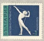 Sellos de Europa - Bulgaria -  gimnasta