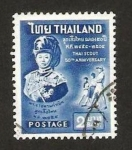 Stamps Thailand -  50 anivº del scout