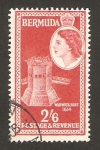 Stamps America - Bermuda -  fuerte warwick
