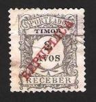 Stamps Asia - East Timor -  porteado receber