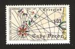 Sellos del Mundo : Africa : Cabo_Verde : carta nautica