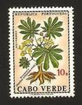 Sellos del Mundo : Africa : Cabo_Verde : flora, mandioca