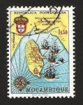 Stamps Mozambique -  anivº