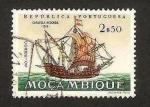 Sellos del Mundo : Africa : Mozambique : carabela redonda