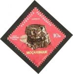 Stamps Africa - Mozambique -  caule silicificado