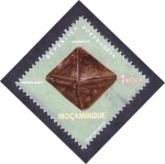 Stamps Mozambique -  zircao